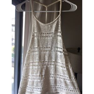 Knitted Crochet Tank